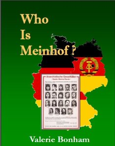 2013 07 Jul 29 Who Is Meinhof cover