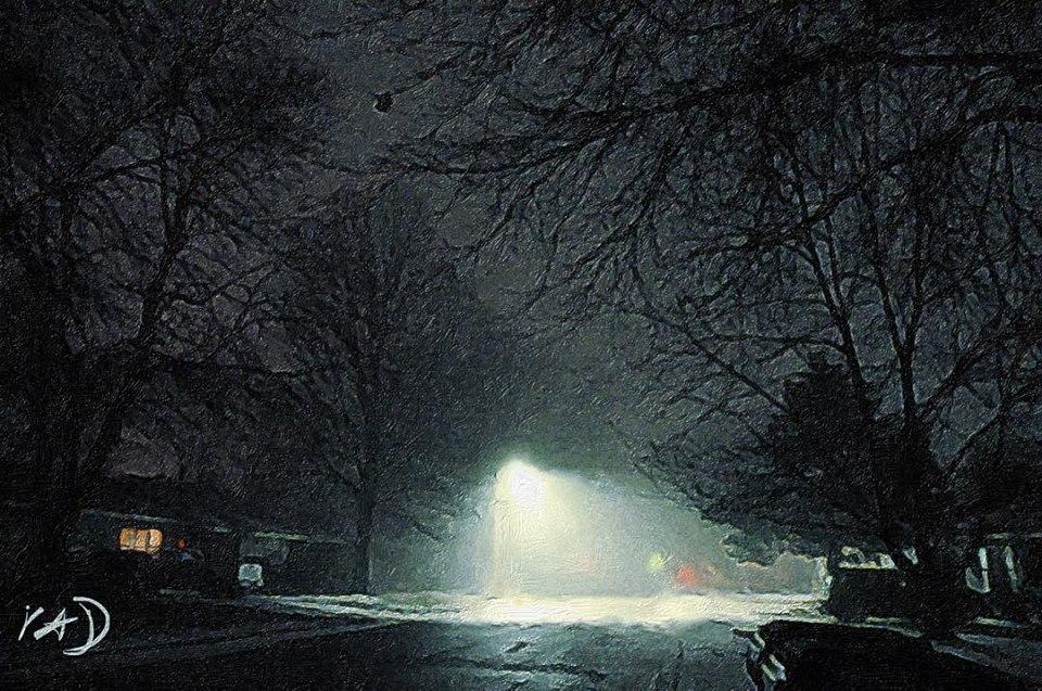 02 streetlight Brushstroke