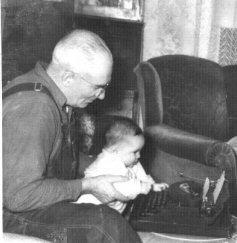 1950 11 Nov typing lesson sm